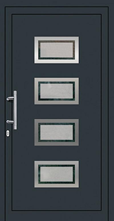 Alu-Haustür Modell Lesum Serie Style