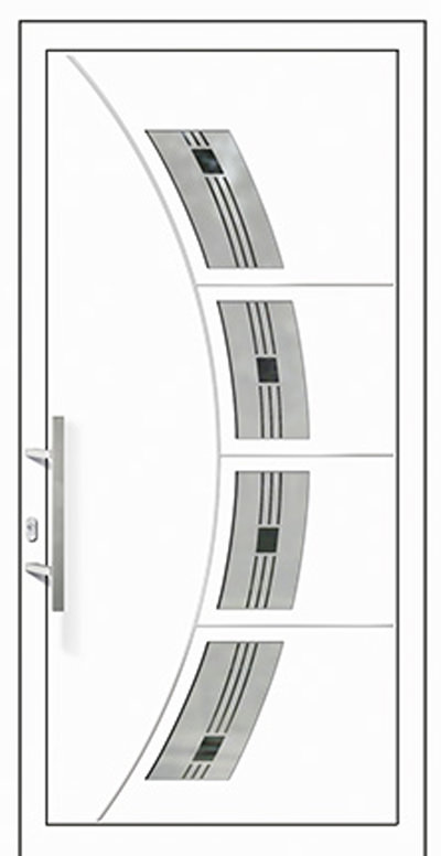 Alu-Haustür Modell AAR Serie Style