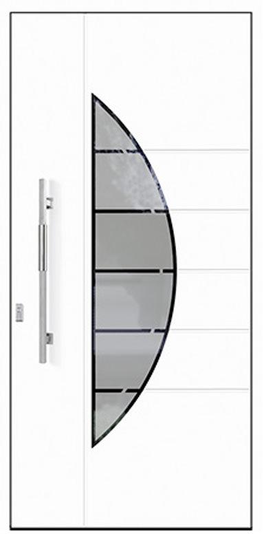 Aluminium-Haustür Modell Diemel Serie Style