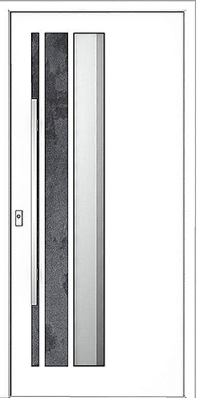 Alu-Haustür Modell Saale Serie Style