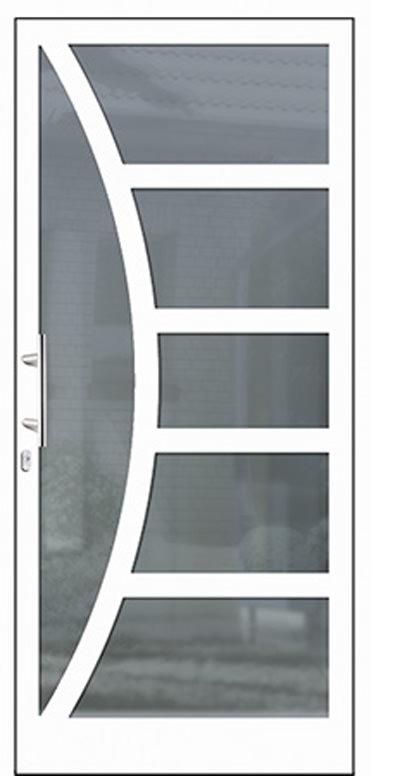 Aluminium-Haustür Modell Sinn Serie Style