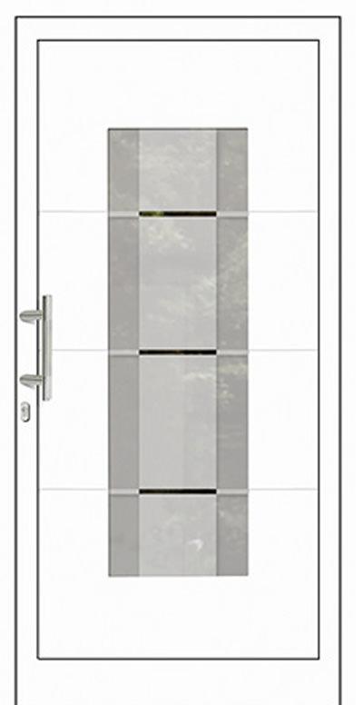 Aluminium-Haustür Modell Tanger Serie Style