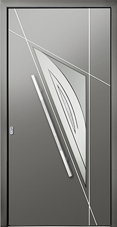 Aluminium-Haustür Modell Agger Serie Style