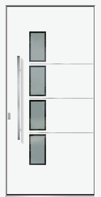 Alu-Haustür Modell Alb Serie Style