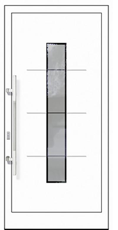 Aluminium-Haustür Modell Barthe Serie Style