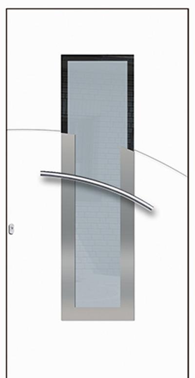 Alu-Haustür Modell Fils Serie Style