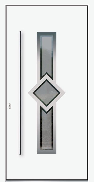 Alu-Haustür Modell Midel Serie Style
