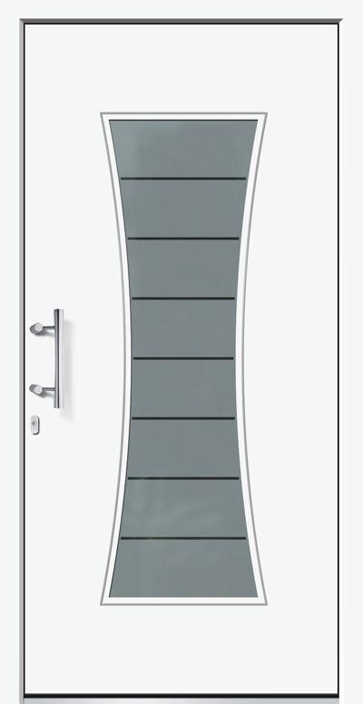 Aluminium-Haustür Modell Nagold Serie Style