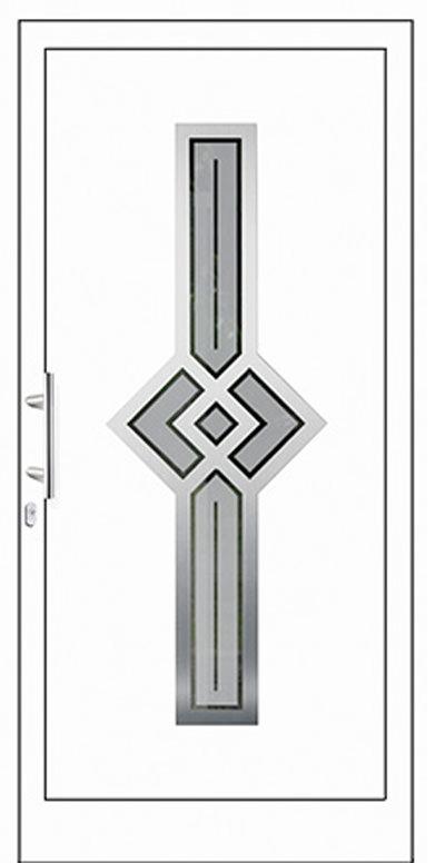 Aluminium-Haustür Modell Recknitz Serie Style