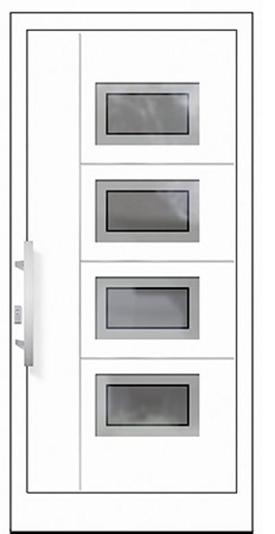 Aluminium-Haustür Modell Rhein Serie Style