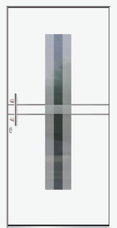 Aluminium-Haustür Modell Rhin Serie Style