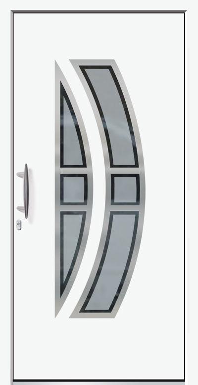 Alu-Haustür Modell Saar E Serie Style