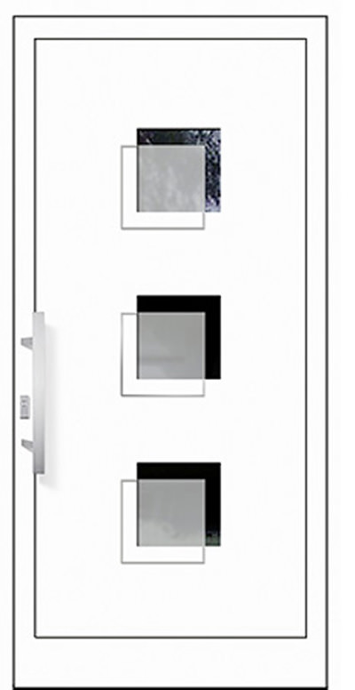 Alu-Haustür Modell Werra Serie Style