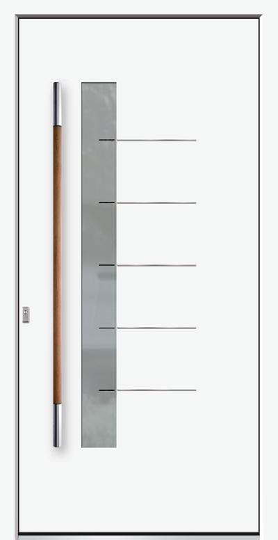 Aluminium-Haustür Modell Werse Serie Style