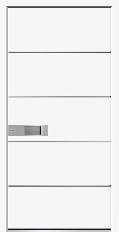 Aluminium-Haustür Modell Wisper Serie Style