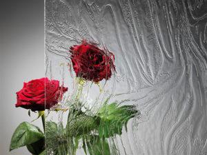 Aluhaustüren-Verglasung Barock weiss Preisgruppe B - www.aluminium-haustueren-direkt.de