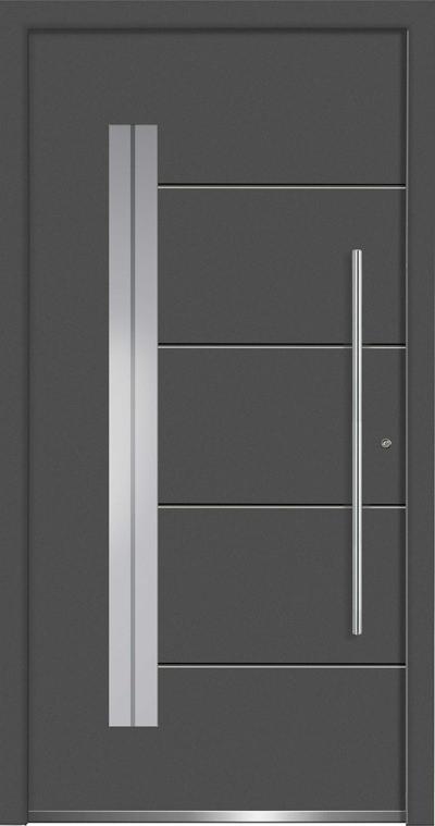 Aluminium-Haustüren Aktion Concept Class Modell Acor Farbe DB 703