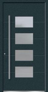 Aluminium-Haustüren Aktion Concept Class Modell Cara Farbe 7016 anthrazitgrau