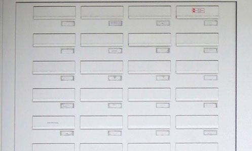 Briefkastenanlagen, Briefkästen in Haustür-Seitenteilen - www.aluminium-haustueren-direkt.de