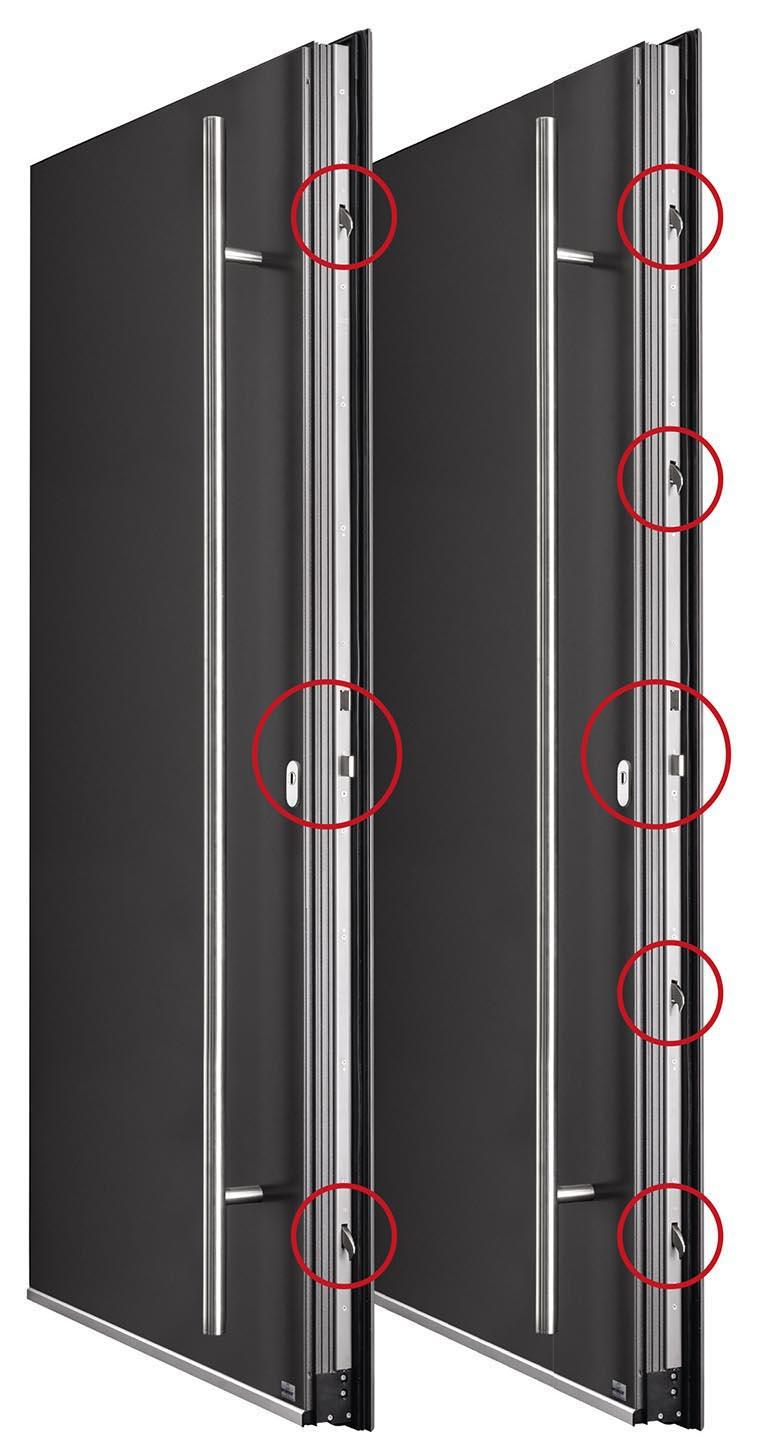 Haustür-Sicherheit: Widerstandsklassen RC2 und RC2 - Sicherheit bei Aluminium-Haustüren, Einbruchschutz
