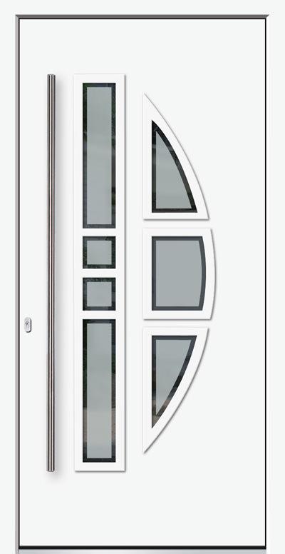 Alu-Haustür Modell Ammer Serie Decor