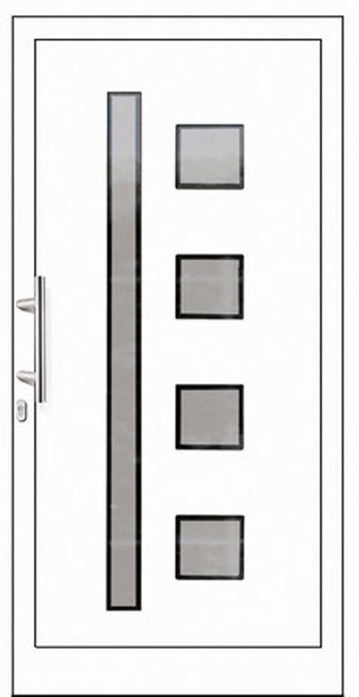 Alu-Haustüren Modell Barnitz Serie Pure