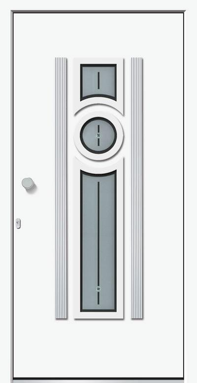 Aluminium-Haustür Modell Eder Serie Decor