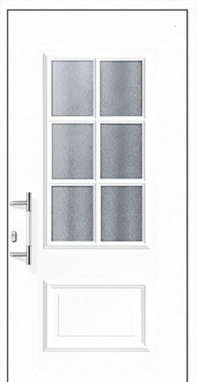 Alu-Haustüren Modell Fuhse Serie Decor