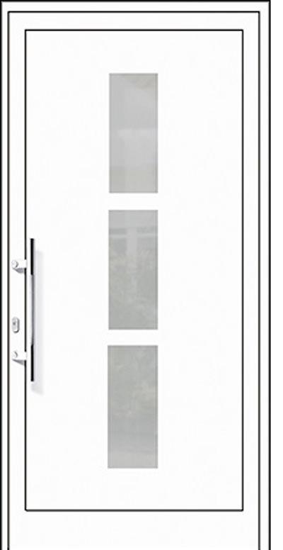 Aluminium-Haustüren Modell Hasel Serie Pure