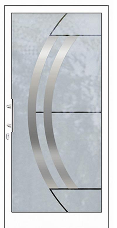 Alu-Haustüren Modell Ilm Serie Free