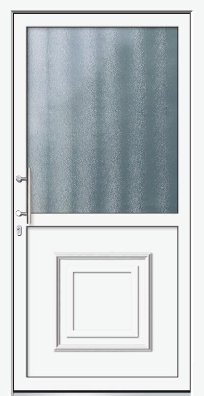 Alu-Haustür Modell Isar Serie Decor
