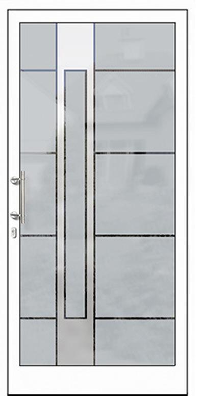 Aluminium-Haustüren Modell Lahn Serie Free