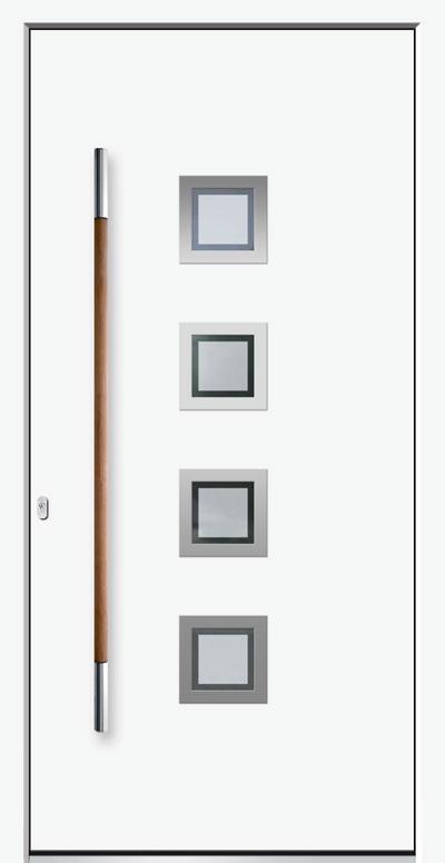 Alu-Haustüren Modell Lippe E Serie Pure