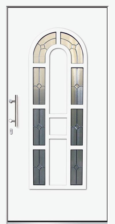 Aluminium-Haustür Modell Lüder Serie Decor