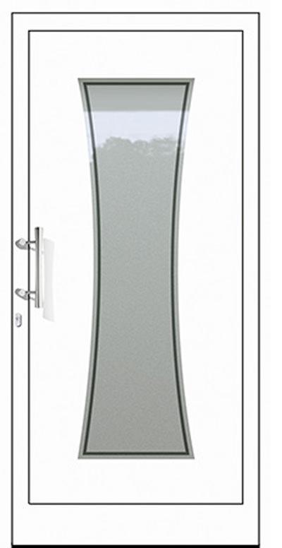 Aluminium-Haustüren Modell Neckar Serie Pure
