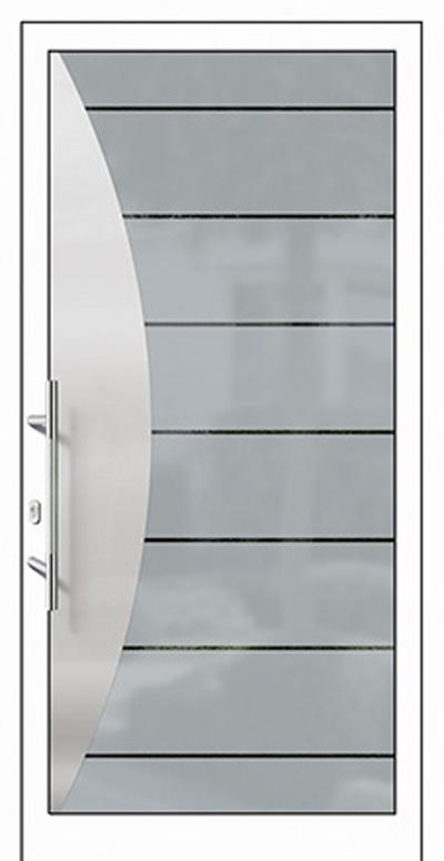 Aluminium-Haustüren Modell Nims Serie Free