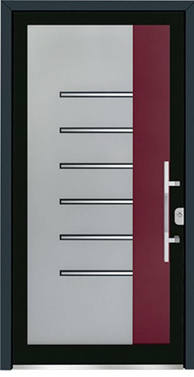 Alu-Haustür Modell Pleisse Serie Free