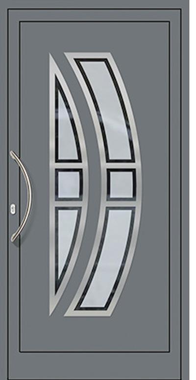 Aluminium-Haustüren Modell Saar Serie Decor