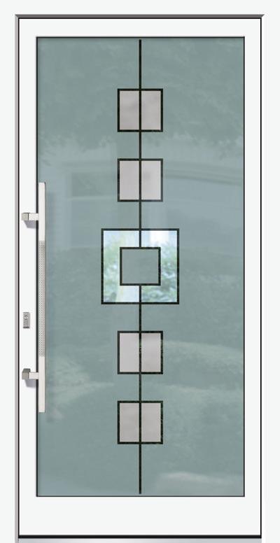 Alu-Haustüren Modell Spree Serie Free