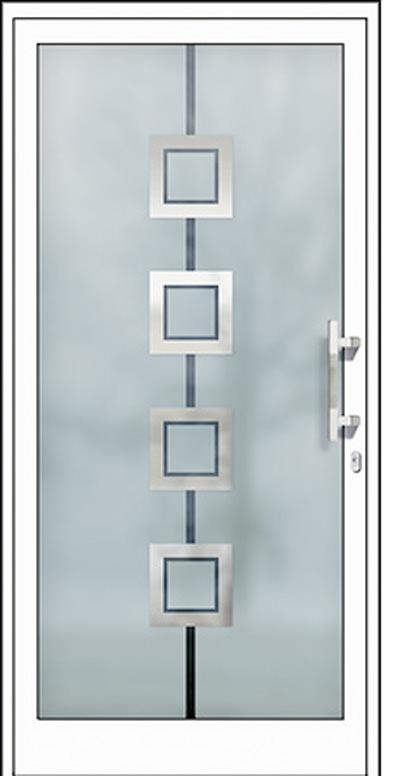 Alu-Haustüren Modell Trebel Serie Free