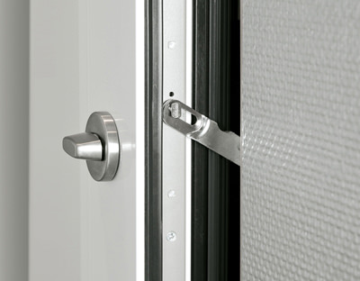 Türwächter, Türspaltsicherung - macht ihre Haustür noch sicherer - www.aluminium-haustueren-direkt.de