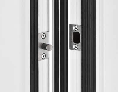 Bandseitensicherung - erhöht die Haustür-Sicherheit und beugt Einbrüchen vor - www.aluminium-haustueren-direkt.de