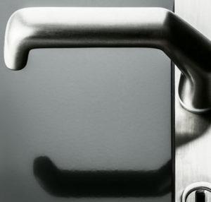 Aluhaustueren-Farbe RAL 7016 Anthrazitgrau glänzend mit Griff - www.aluminium-haustueren-direkt.de