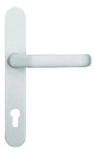 Aluhaustüren-Beschläge Innendrücker Typ 501 Weiss - www.aluminium-haustueren-direkt.de