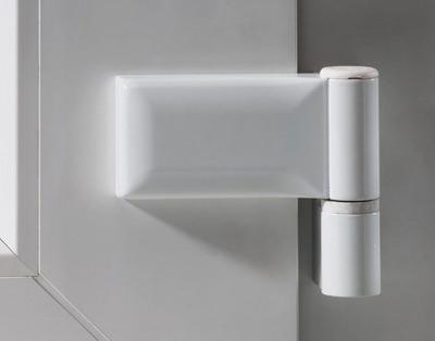 Türband Kunststoff-Haustüren Standard 2-teilig verstellbar - www.aluminium-haustueren-direkt.de